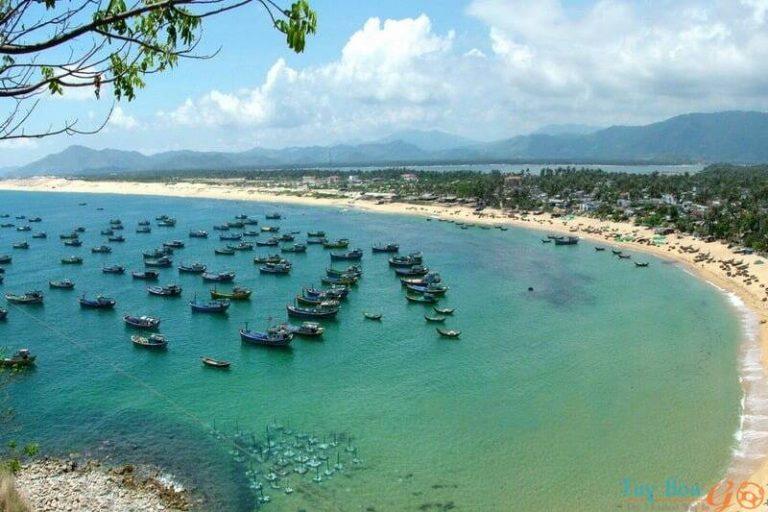 làng chài tại Làng An mắm, làng Tân Thanh.
