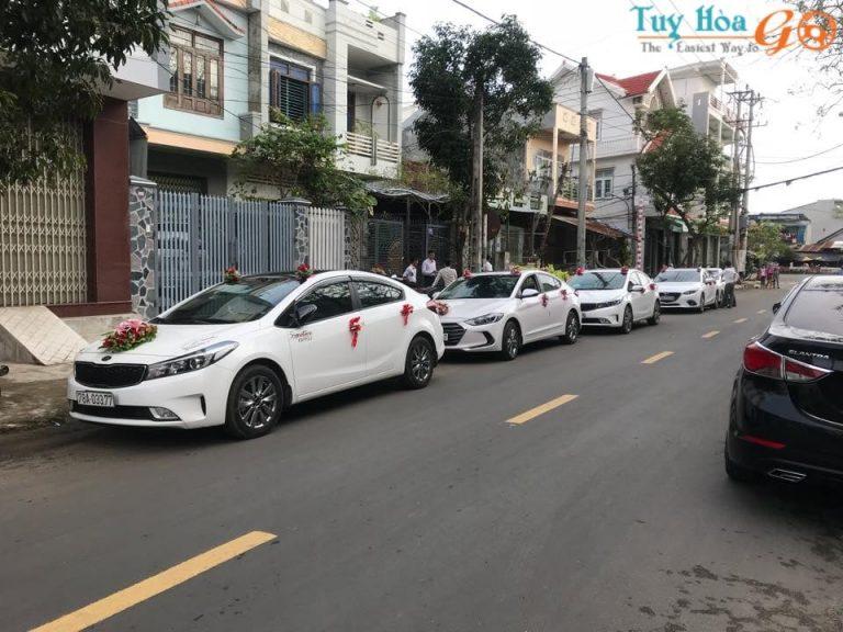 Thuê xe rước dâu Tuy Hòa Phú Yên