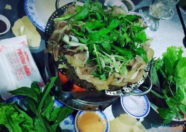 Thịt dê núi Chóp Chài
