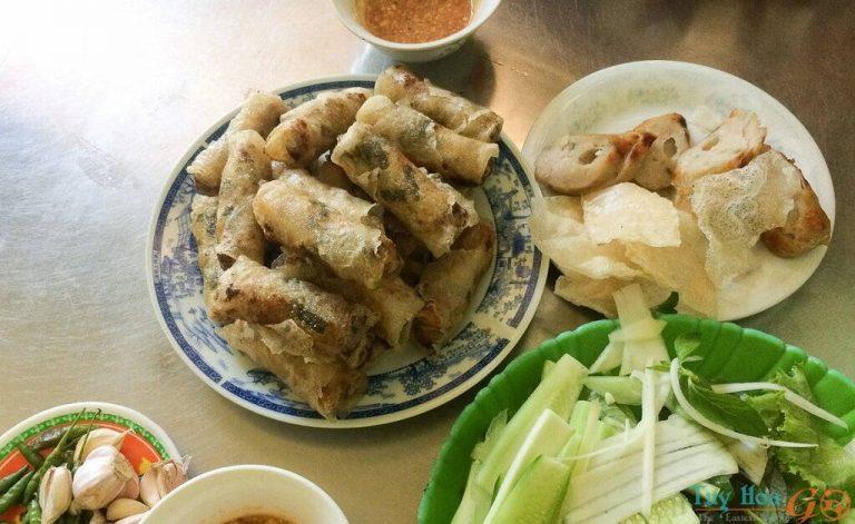 Ăn chả dông khi du lịch Tuy Hòa
