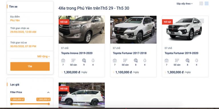 Đi Phú Yên tự túc: Có nên thuê xe ô tô du lịch?
