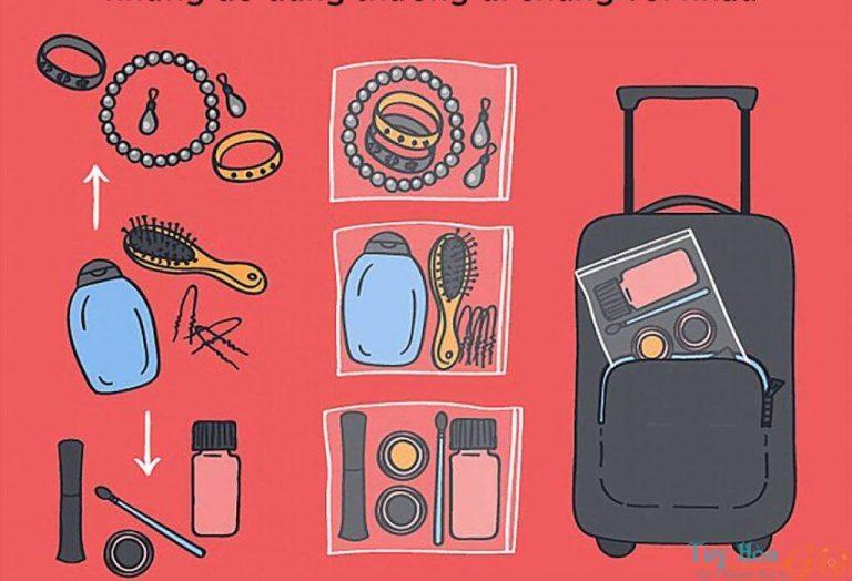 Lập danh sách các đồ dùng thật cần thiết khi đi du lịch