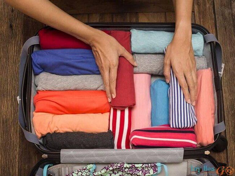Cách xếp một số đồ cụ thể vào vali đi du lịch