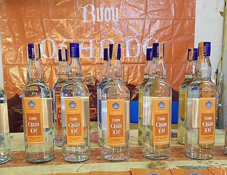 Rượu Quán Đế - đặc sản Phú Yên làm quà cho sức khỏe
