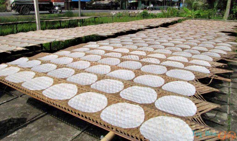 6-dac-san- Món ngon Phú Yên - Bánh tráng Hòa Đa
