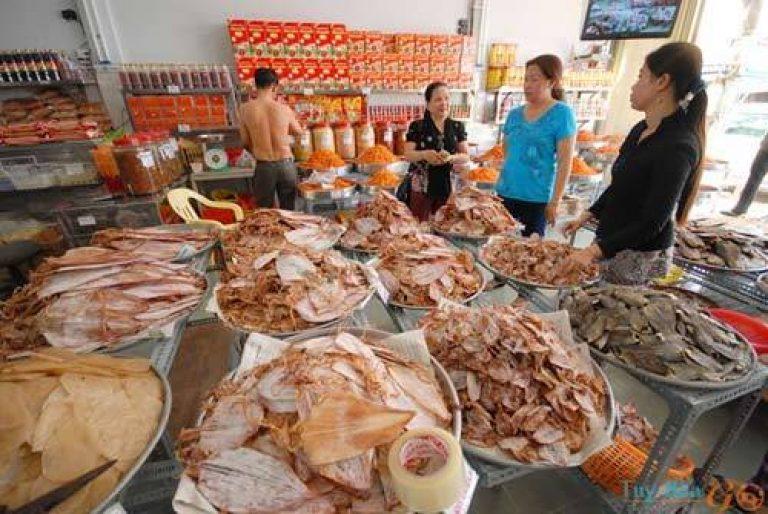 Hải sản khô Phú Yên