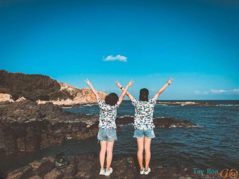 Du lịch Gành đá dĩa Phú Yên