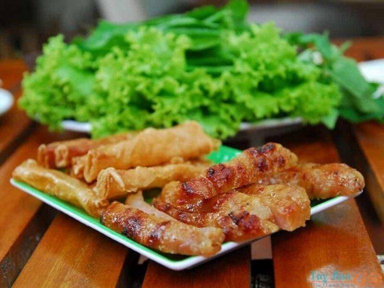 Nem nướng chuẩn vị ẩm thực Nha Trang