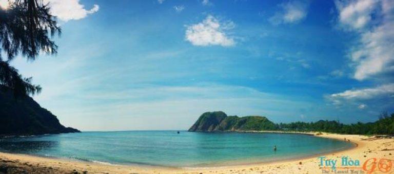 ảnh đẹp khi du lịch Bãi Ôm Bãi Rạng Phú Yên