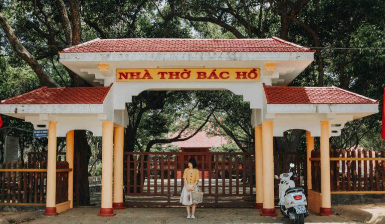 Check in ở nhà thờ Bác Hồ Phú Yên