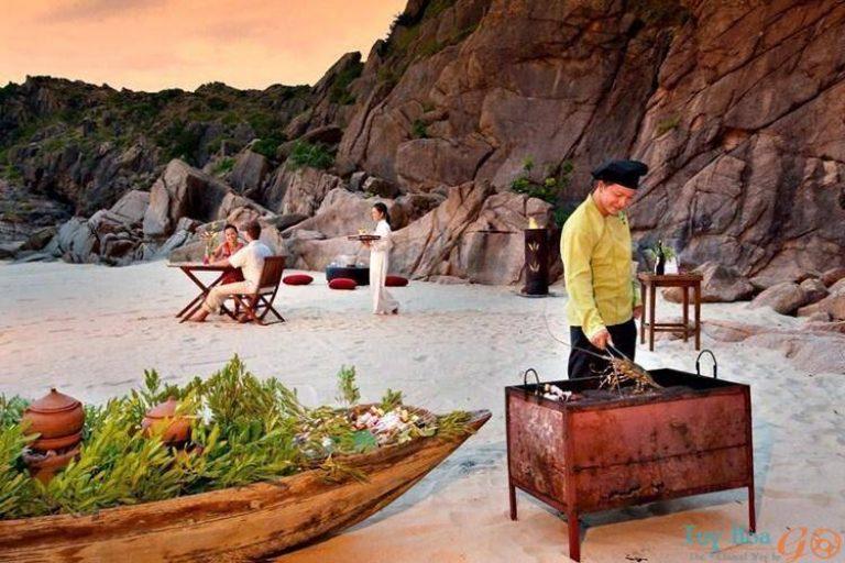 Bãi Tràm Phú Yên - Mê đắm không gian biển cả thanh bình
