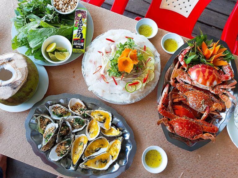 Hải sản Năm Ánh - điểm đến quán ăn ngon Tuy Hòa Phú Yên