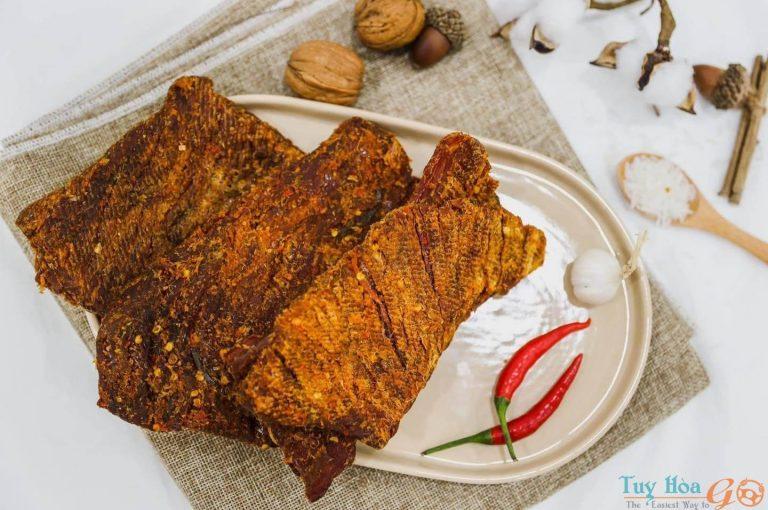 Giới thiệu về đặc sản bò một nắng muối kiến vàng