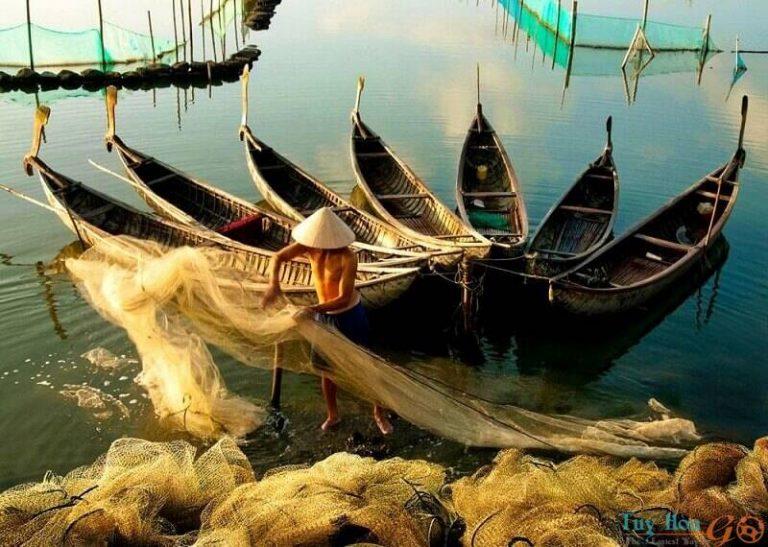 Đầm Ô Loan Phú Yên – Ngắm nhìn vẻ đẹp lãng mạn của vùng đầm phá mênh mông