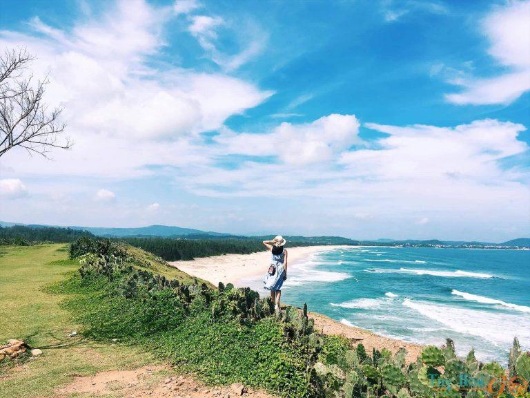 Bãi Xép – Bãi biển đẹp Phú Yên bước ra từ những thước phim điện ảnh đẹp ngỡ ngàng