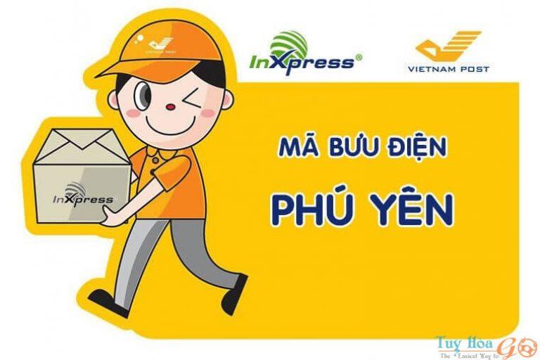 Mã bưu điện Phú Yên