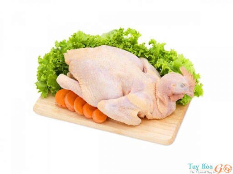 Nguyên liệu làm món gà hấp rượu trắng