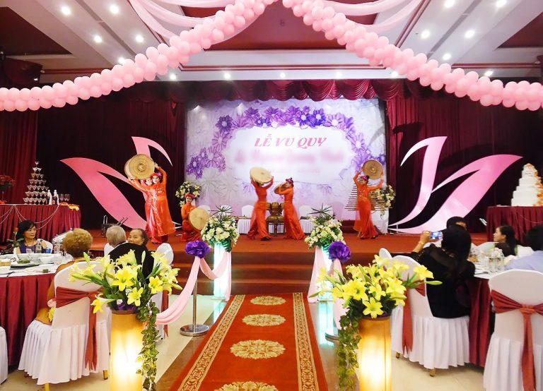 Tổ chức tiệc cưới tại Việt Star Resort & Spa