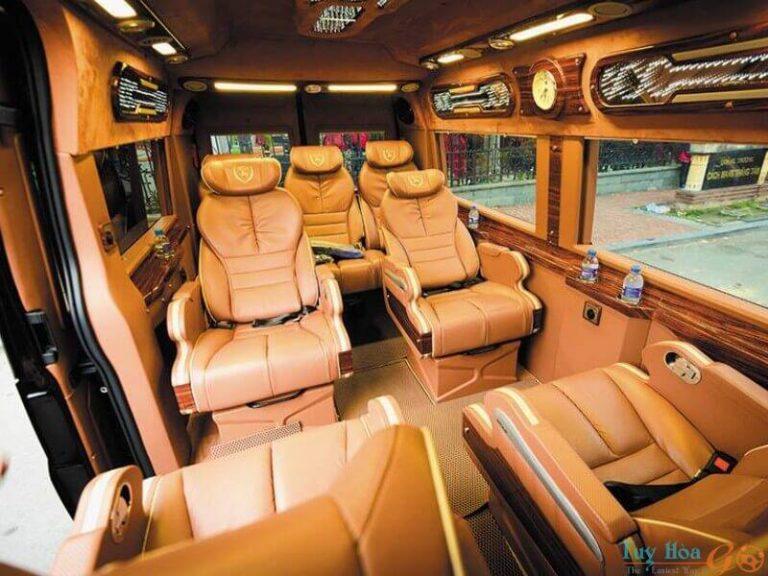 Thuê xe limousine 9 chỗ Phú Yên: Những điều cần biết