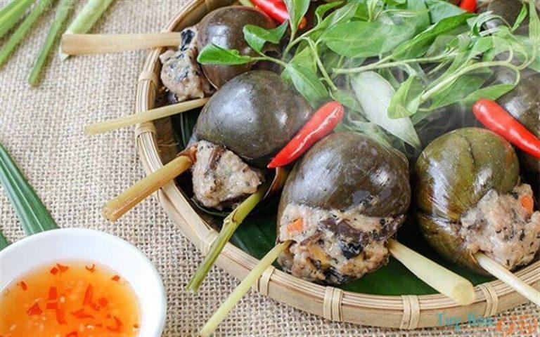 Trổ tài nấu ăn với cách nấu ốc bươu nhồi thịt ăn mãi vẫn thèm