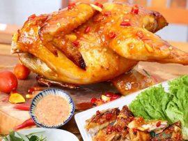 Tuyệt chiêu cách làm gà nướng muối ớt ngon như người Đà Nẵng