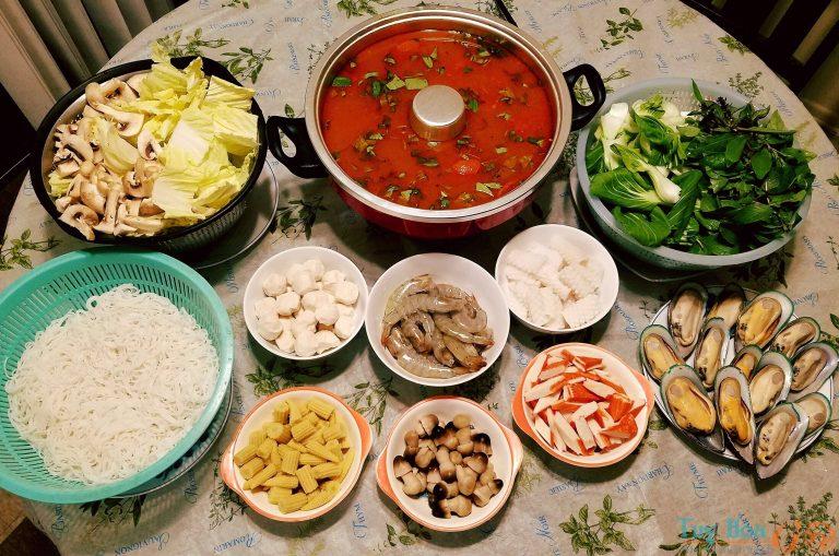 Tuyệt đỉnh ẩm thực trời mưa: Cách nấu lẩu Thái ngon đậm đà