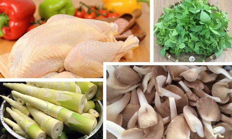 Cách nấu lẩu gà lá é Phú Yên ngon đúng chuẩn