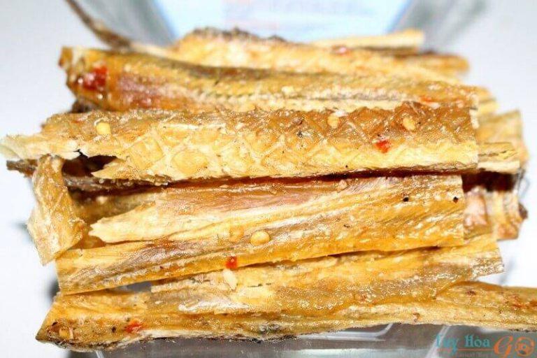 Cá đét khô – Đặc sản miền biển nhỏ mà có võ