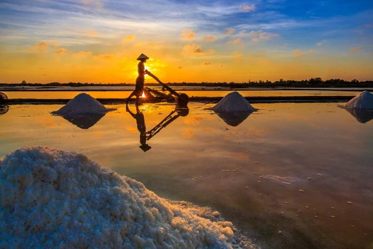 Làng muối Sa Huỳnh