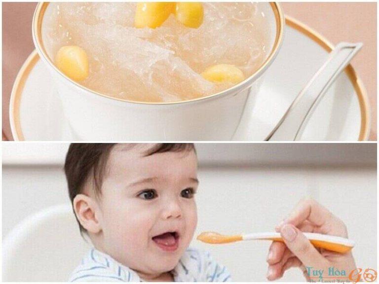 Cách dùng tổ yến hiệu quả cho trẻ em